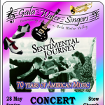 Gala Water Singers 'A Sentimental Journey'
