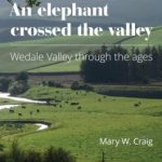 An elephant crossed the valley